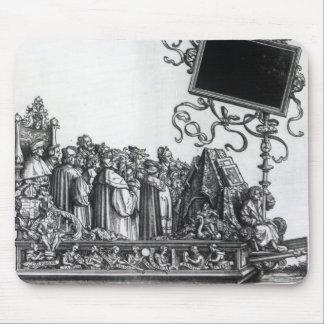Scene from Maximilian's Triumphal Procession Mouse Pad
