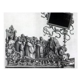 Scene from Maximilian's Triumphal Procession Postcard