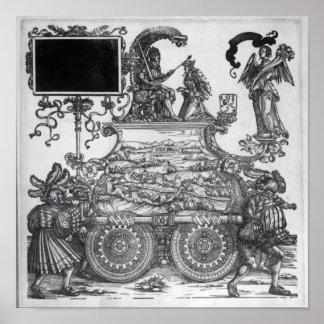 Scene from Maximilian's Triumphal Procession Poster