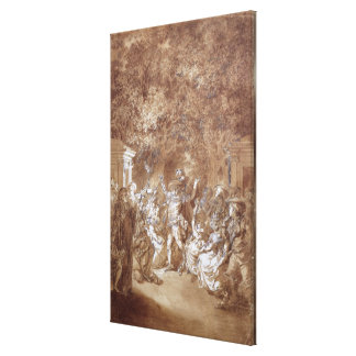 Scene from of 'The Marriage of Figaro' Canvas Print