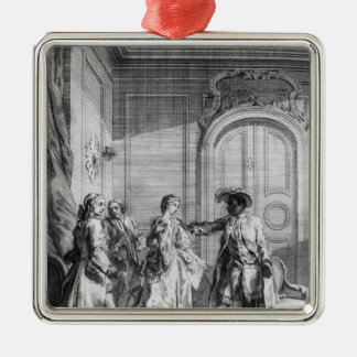 Scene from 'Othello' by William Shakespeare Metal Ornament