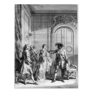 Scene from 'Othello' by William Shakespeare Postcard
