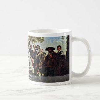 Scene From Shakespeare'S As You Like It Classic White Coffee Mug