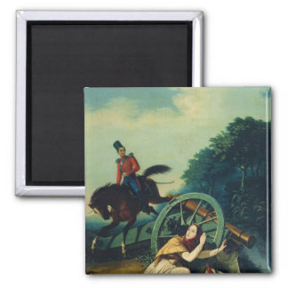Scene from the 1812 Franco-Russian War, 1830s Magnet