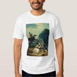 Scene from the 1812 Franco-Russian War, 1830s Shirt