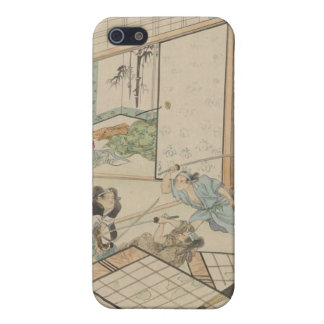 """Scene from the """"47 Ronin"""" Story circa 1800s Japan Case For iPhone SE/5/5s"""