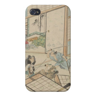 "Scene from the ""47 Ronin"" Story circa 1800s Japan iPhone 4/4S Covers"