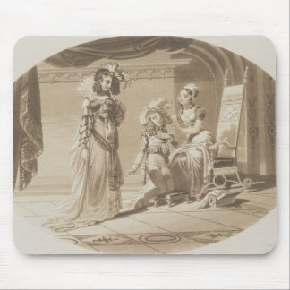 Scene from 'The Abduction from the Seraglio' Mouse Pad