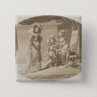 Scene from 'The Abduction from the Seraglio' Pinback Button