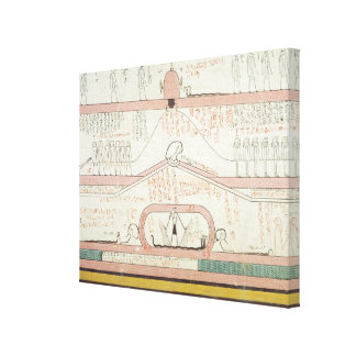 Scene from the Book of Amduat Canvas Print