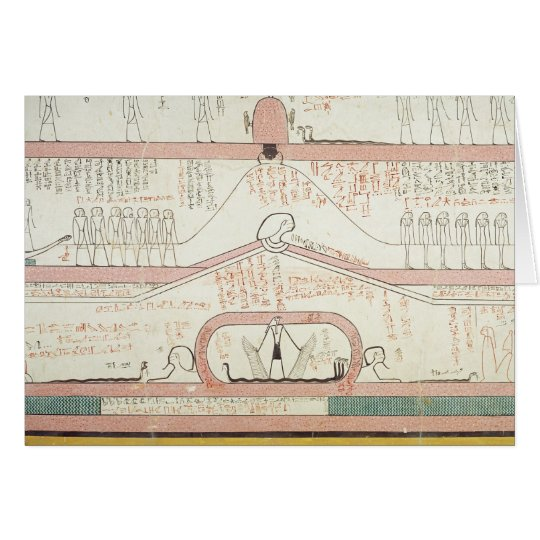 Scene from the Book of Amduat Card