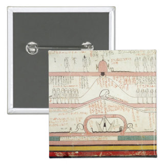 Scene from the Book of Amduat Pinback Button