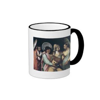 Scene from the Commedia dell'Arte, c.1765 Ringer Coffee Mug