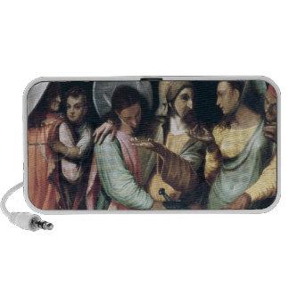 Scene from the Commedia dell'Arte, c.1765 iPhone Speaker