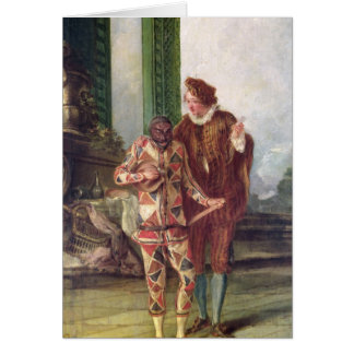 Scene from the Commedia dell'Arte Greeting Cards