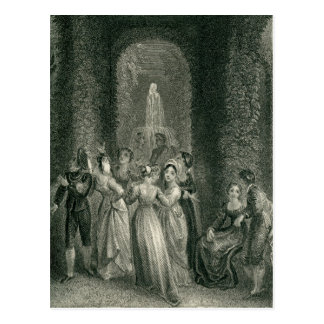 Scene from the Decameron Postcard