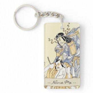 Scene from the Drama Soga Moyo Aigo no Wakamats K Acrylic Keychain