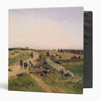 Scene from the Franco-Prussian War 3 Ring Binder
