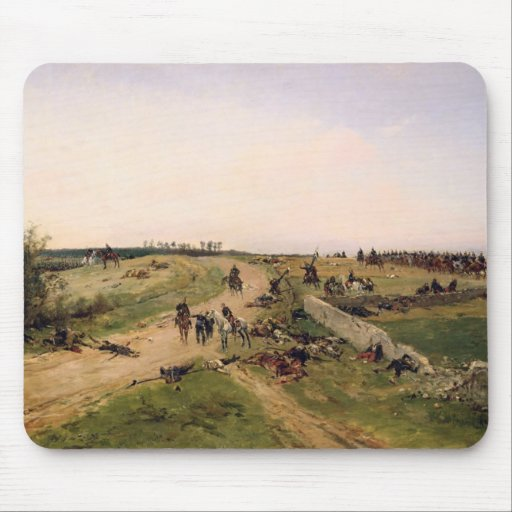 Scene from the Franco-Prussian War Mouse Pads