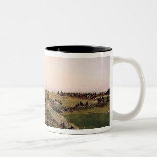 Scene from the Franco-Prussian War Two-Tone Coffee Mug
