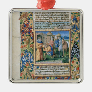 Scene from the 'Hours of Louis d'Orleans' Ornament