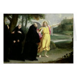 Scene from the Life of St. Benedict Greeting Card