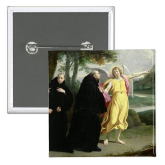 Scene from the Life of St. Benedict Pinback Button
