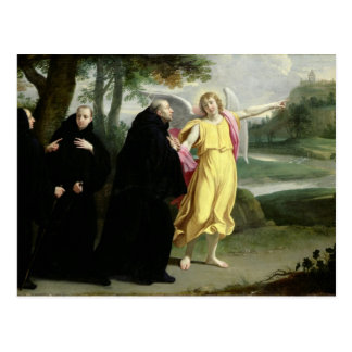 Scene from the Life of St. Benedict Postcard