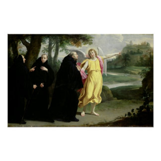 Scene from the Life of St. Benedict Poster