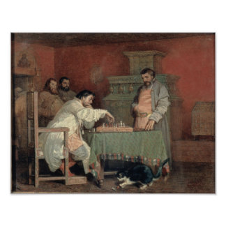 Scene from the Life of the Russian Tsar Poster