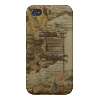Scene from 'The Magic Flute' by Mozart, 1795 iPhone 4 Cases