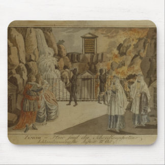 Scene from 'The Magic Flute' by Mozart, 1795 Mouse Pad