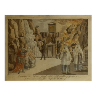 Scene from The Magic Flute by Mozart 1795 Postcards
