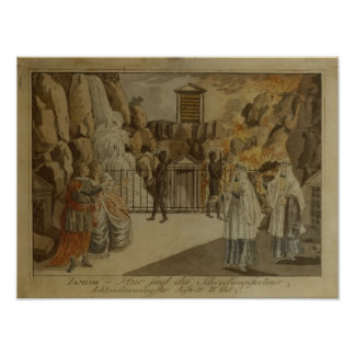 Scene from 'The Magic Flute' by Mozart, 1795 Print