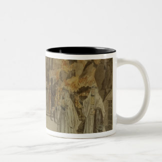 Scene from 'The Magic Flute' by Mozart, 1795 Two-Tone Coffee Mug