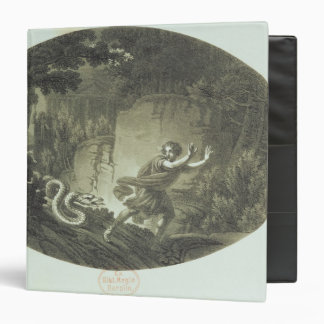 Scene from 'The Magic Flute' by Mozart 3 Ring Binder