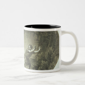 Scene from 'The Magic Flute' by Mozart Two-Tone Coffee Mug