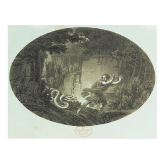 Scene from The Magic Flute by Mozart Postcards