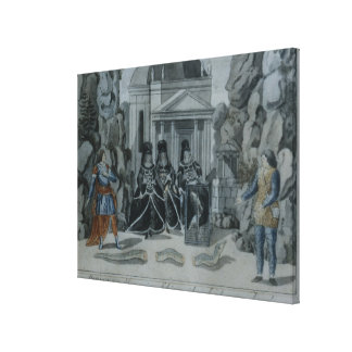 Scene from 'The Magic Flute' Canvas Print