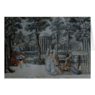 Scene from 'The Magic Flute' Card