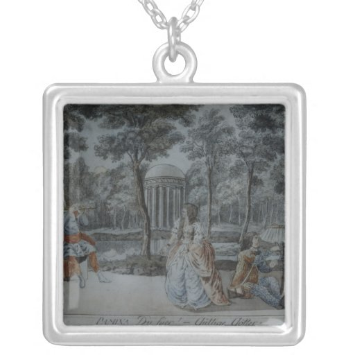 Scene from 'The Magic Flute' Personalized Necklace