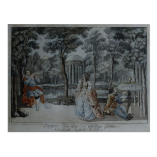 Scene from The Magic Flute Post Cards