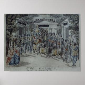 Scene from 'The Magic Flute' Print