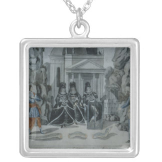 Scene from 'The Magic Flute' Silver Plated Necklace