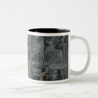 Scene from 'The Magic Flute' Two-Tone Coffee Mug