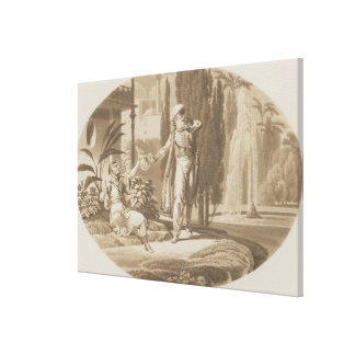 Scene from 'The Marriage of Figaro' Stretched Canvas Prints