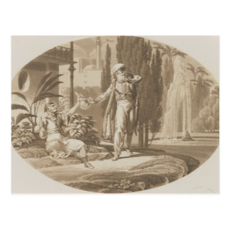 Scene from The Marriage of Figaro Post Card