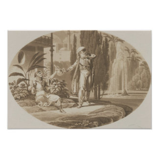 Scene from 'The Marriage of Figaro' Print