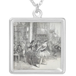 Scene from the new Ballet of 'The Wags of Silver Plated Necklace