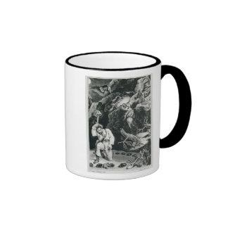 Scene from the opera 'Der Freischutz' Ringer Coffee Mug